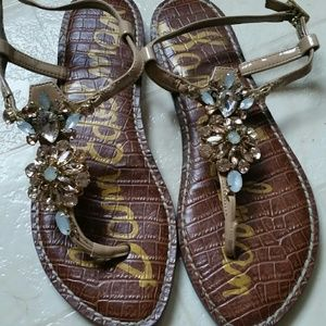 Sam Edelman Grayson Almond  sandals